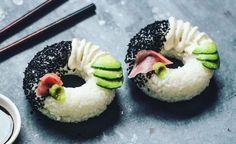 Jetzt gibt's Donuts auch in gesund & kalorienarm: We love Sushi-Donuts!