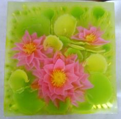 lotus flowers art Jelly