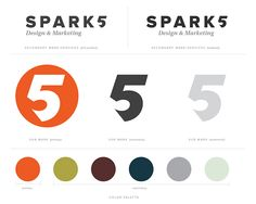 Identity Refresh for Spark5 Design & Marketing on Branding Served