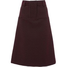 Tory Burch     Cadyn A-Line Skirt ($395) ❤ liked on Polyvore featuring skirts, print, high waisted a line skirt, a-line skirt, high-waist skirt, knee length a line skirt and high waisted skirts