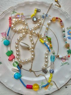 Pearl Necklace, Beaded Necklace, Pearls, Jewelry, Fashion, String Of Pearls, Beaded Collar, Moda, Jewlery
