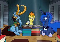 ThePonyArtCollection: Because Loki pony