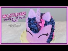 (80) Twilight Sparkle Cake | Renee Conner - YouTube