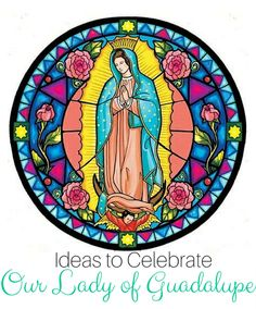 Our Lady of Guadalupe crafts and activities - perfect for Catholic families during this Advent season. Catholic Crafts, Catholic Books, Catholic Kids, Catholic Saints, Catholic Feast Days, Religious Art, Religious Pictures, Religious Education, Virgin Mary