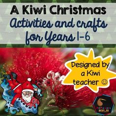 Kiwi or New Zealand Christmas activities.Are you a NZ classroom teacher looking for end of the year and Christmas activities? Want something that reflects where we live?  Want summer themed Christmas activities? Want something that is easy to use?I have you covered This pack is full of 'print and go' activities suitable for Years 1-6 with New Zealand themed Christmas activities and worksheets- there is minimal preparation required!Included are: reading and worksheet on the PohutukawaPlan a…