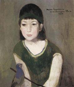 womeninarthistory:  Portrait of Anna, Marie Laurencin