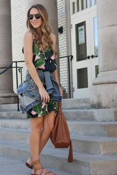 Palm Print | Twenties Girl Style