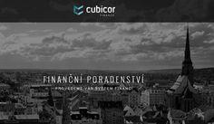 WFB Media Plzeň,  zhotovení webových stránek a prezentací nejen            v Plzni a okolí - reference: vytvořili jsme tyto webové stránky pro firmu Cubicor Finance