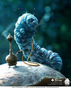 Alice in Wonderland Movie Concept Art | Abduzeedo Design Inspiration & Tutorials