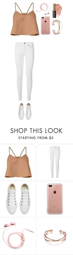 """""""Untitled #513"""" by dutchfashionlover ❤ liked on Polyvore featuring TIBI, Burberry, Converse, Belkin, Bobbi Brown Cosmetics, casual and nude"""