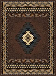 United Weavers Southwestern/Lodge Runner Area Rug 1'11'x7'4' Brown Manhattan Tucson Collection >>> You can find out more details at the link of the image. (This is an affiliate link and I receive a commission for the sales)