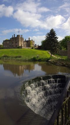 14th century Ripley Castle North Yorkshire by Steve Gill