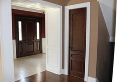 brown interior doors on pinterest brown interior. Black Bedroom Furniture Sets. Home Design Ideas
