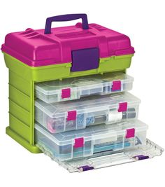 Get a handle on your next project with the oh-so-portable Grab-n-Go rack from Joann. Creative Options has you covered!