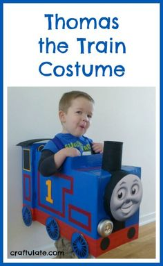 Thomas the Train Costume from Craftulate