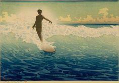 Hawaii; Date circa 1920-1921. Artist: Charles W. Bartlett (British, 1860 - 1940). Medium: Color woodblock print Dimensions: Image: 10 3/8 x 15 1/16 in. (26.4 x 38.3 cm) Sheet: 11 9/16 x 16 1/4 in. (29.4 x 41.3 cm). Gift of Anna Rice Cooke, 1927, to Honolulu Museum of Art.