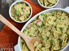 Pesto Ricotta Pasta Salad - Budget Bytes