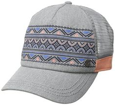 Roxy Junior's Go Live Trucker Hat, Heritage Heather, One Size >>> You can find more details at http://www.passion-4fashion.com/clothing/roxy-juniors-go-live-trucker-hat-heritage-heather-one-size/?qr=120716153349