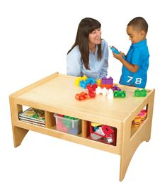 Play Table - SCHOOL SPECIALTY MARKETPLACE Library Furniture, Play Table, Made In America, Cubbies, Purpose, Toddler Bed, School, Home Decor, Child Bed