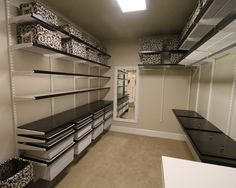 A great closet system-Elfa from The Container Store {Master Closet Idea}