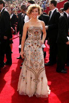 Alyson Hannigan Evening Dress - Alyson Hannigan Looks - StyleBistro