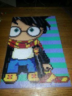 Harry Potter--Chibi Harry perler beads by PixelPerfect8 on deviantART