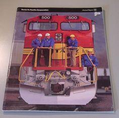 Railroad Annual Report - Santa Fe Railroad - 1991