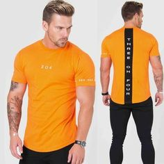 Men Cotton Short Sleeve T Shirt Fitness Slim Patchwork Black Tshirt Male Gyms Tees Tops Summer Casual Clothing Color black Size M Black Tees, Moda Fitness, T Shirt Long, Mens Cotton Shorts, Gym Shirts, Casual Summer Outfits, 98, Summer Tops, Shirt Sleeves
