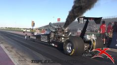 VIDEO: Diesel drag racing! Tires smoke, cars smoke, smoke everywhere.