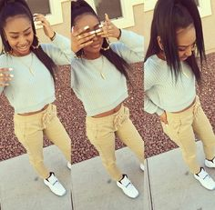 Light Skin Black Girls With Swag Share My Style