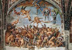 Verdoemden in de hel - Luca Signorelli