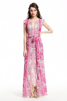 Enjoy 20% off full price dresses with code: DRESS20. Maneshma Silk Printed Dress.