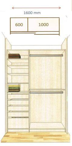 Wardobe on pinterest wardrobe design closet designs and - Idee amenagement placard chambre ...