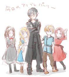 Sword Art Online Poster, Sword Art Online Wallpaper, Baby Red Fox, Asada Shino, Leo, Liquid Dreams, Cute Little Baby, Kirito, Anime Art Girl