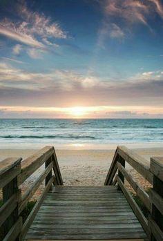 Nature Landscape Beautiful Places Ocean Ideas For 2019 I Love The Beach, Jolie Photo, Ocean Beach, Beach Sunrise, Nature Beach, Ocean Waves, Beach Sunsets, Nature Water, Beach Walk