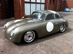 The 'Outlaw' Porsche 356 Classic Sports Cars, Classic Cars, Porsche 356 Outlaw, Porsche 356 Speedster, Porsche Autos, Porsche Cars, Porsche Classic, Vintage Porsche, Vintage Cars