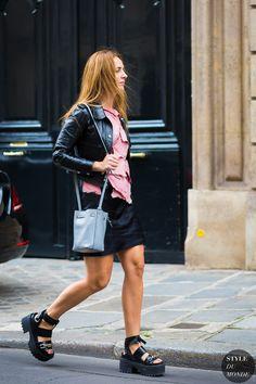 Alexia Niedzielski Street Style Street Fashion Streetsnaps by STYLEDUMONDE Street Style Fashion Photography