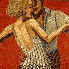 Mosaic Artists Gallery People Photos of Figurative Mosaic Art - Showcase Mosaics