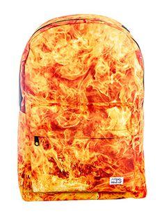 This bag is on FIRREEEEE (...Alicia Keyes style) Spiral Fire Backpack