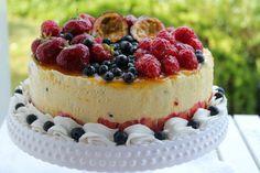 Passion mousse Cake | Passion 4 baking