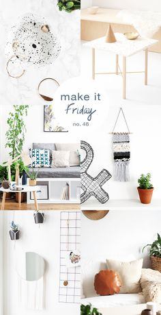 Make it Friday - DIY ideas to inspire your weekend