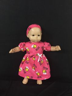 A personal favorite from my Etsy shop https://www.etsy.com/listing/219121337/doll-clothes-for-bitty-baby-girl-dolls