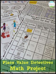 Taking Place Value Activities to the next level! Tons of tips and tricks for teaching place value here, including this highly engaging place value math project.