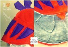 Mugitaly: [ L'elmo del Cavaliere] * Knight's helmet tutorial DIY - details