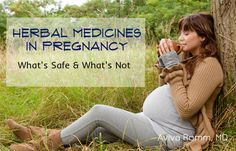 herbal med in pregnancy safety