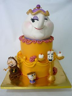 Beauty & The Beast. Is it sad that i want this cake for my birthday! i love beauty and the beast!