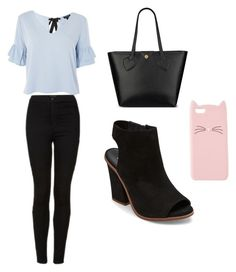 """""""Casual School Day Outfit #23"""" by seragart on Polyvore featuring Topshop, Anne Klein, Steve Madden and Charlotte Russe"""