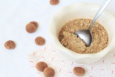 Baked oats met speculaaskruiden #oats #bakedoats #speculaas