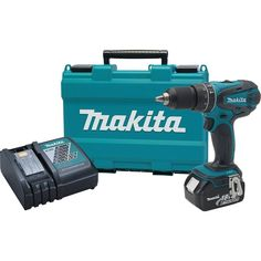 Makita XPH012 18V LXT Lithium-Ion Cordless 1/2-Inch Hammer Driver-Drill Kit with One Battery - - Amazon.com