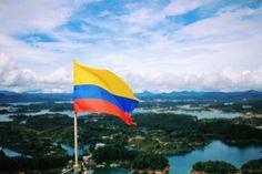 Восемнадцатая страна нашего путешествия:) Viva Colombia! :) #Colombia